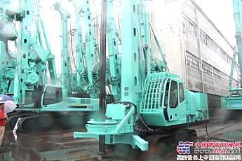 上海金泰SZ70-35液压钻机产品展示