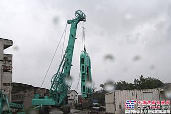 上海金泰SZ70-35液压多功能钻机产品展示