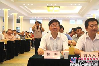 上海金泰工程机械总经理林坚