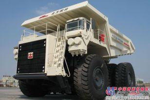 北方股份成功研制220吨级电动轮矿用车