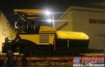 山推SRP95摊铺机等产品销往西藏