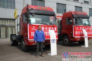 华菱星马LNG重卡进驻山西市场