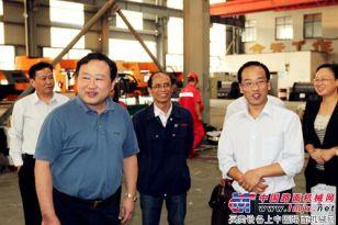 马鞍山市副市长季翔一行莅临中方机械参观指导