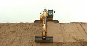 JCB挖掘机视频教学表演各种施工动作