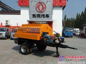 杭州欣融成功研制TS-2000型拖式沥青洒布车