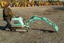 超萌神钢微型挖掘机纤细袖珍