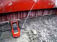 滑移装载机清理船厂污泥