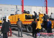 行业首款徐工双发超高压车载泵 引领风向标