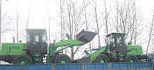 德工装载机出口乌克兰2013年第一单启运