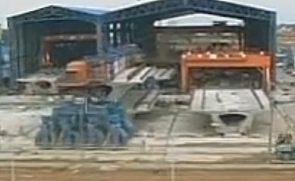 架桥机施工录像