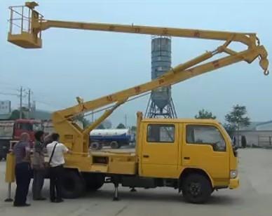 高空作业车 高空作业车视频 12米高空作业车