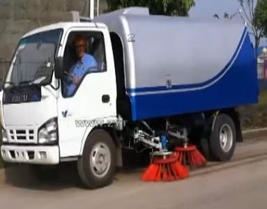 扫路车|扫地车操作