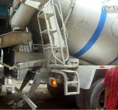 英特小型车载泵 楼面施工