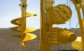 旋挖钻机工作原理