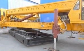 ZLB625长螺旋钻孔机的安装及工作过程(打桩机)