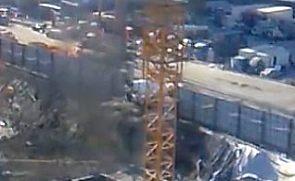 塔式起重机工作视频