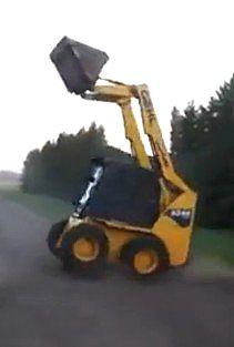 铲车司机玩现了