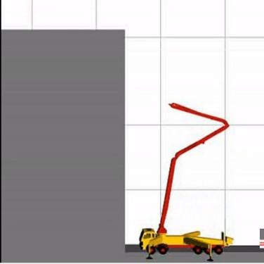 泵车工作模拟演示