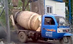 恒联工程机械——小型混凝土搅拌运输车