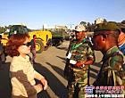徐工集团亮相首届埃塞俄比亚军方展览会
