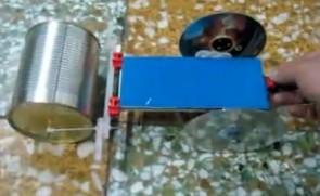 自制电动压路机
