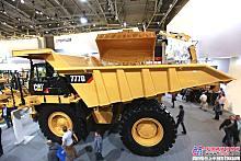 卡特彼勒777G矿用卡车