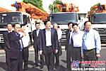 中联重科受湖南省领导称赞