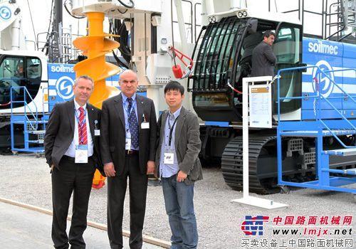 对话土力(吴江)机械有限公司董事长朱利阿诺、远东地区销售总监Stefano Cordella