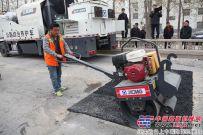 徐工养护设备江苏省一类工区正式服役