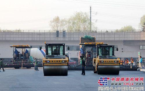 徐工成套筑机助力沈阳全运会城市路面建设