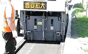 宏大HD10M型铣刨机俄罗斯施工现场视频