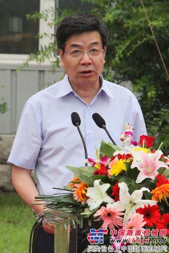 国机重工总经理王伟炎致辞