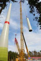 特雷克斯® Superlift 3800助力STEIL公司安装风机