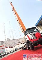 中联重科:永不止步 新一代80米泵车强劲出击