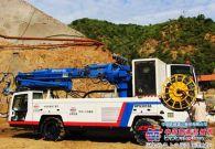 铁建重工:HPS3016S混凝土喷射台车张承高速大显身手