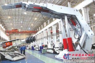 北方重工集团研制成功高端电液控液压支架