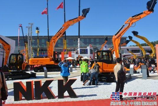 京城长野NKK挖掘机闪耀北京BICES2013展会