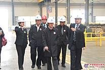 参观中联渭南工厂