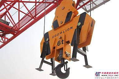 中联重科擎天H6012-6塔机吊钩展示