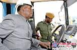 三一平地机助力赞比亚道路建设