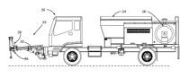 移动式沥青路面喷补车工作原理