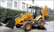 三一铲运机械:首台挖掘装载机下线