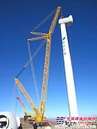 徐工XGC16000起重机再战风电场