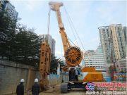 宝峨GB46液压抓斗交付上海远方基础工程有限公司