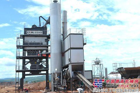铁拓机械GLB2000沥青搅拌设备