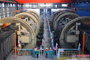 美卓为神华集团黄骅港煤码头四期工程提供的四翻翻车机系统提前实现重载试车