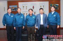中国工程机械工业协会挖掘机械分会李宏宝秘书长走访现代
