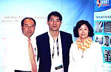 AEM亚洲市场总监李凯恩莅临美国拉展中国路面机械网展台