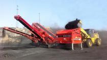 特雷克斯南方路机破碎筛分设备在煤炭领域的应用