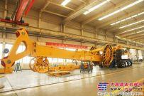 国内最大吨位连续墙液压抓斗徐工XG600D成功下线